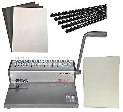Metametal Based Cerlox Comb Binding Machinecomb Cerlox Binderfree Combs Covers