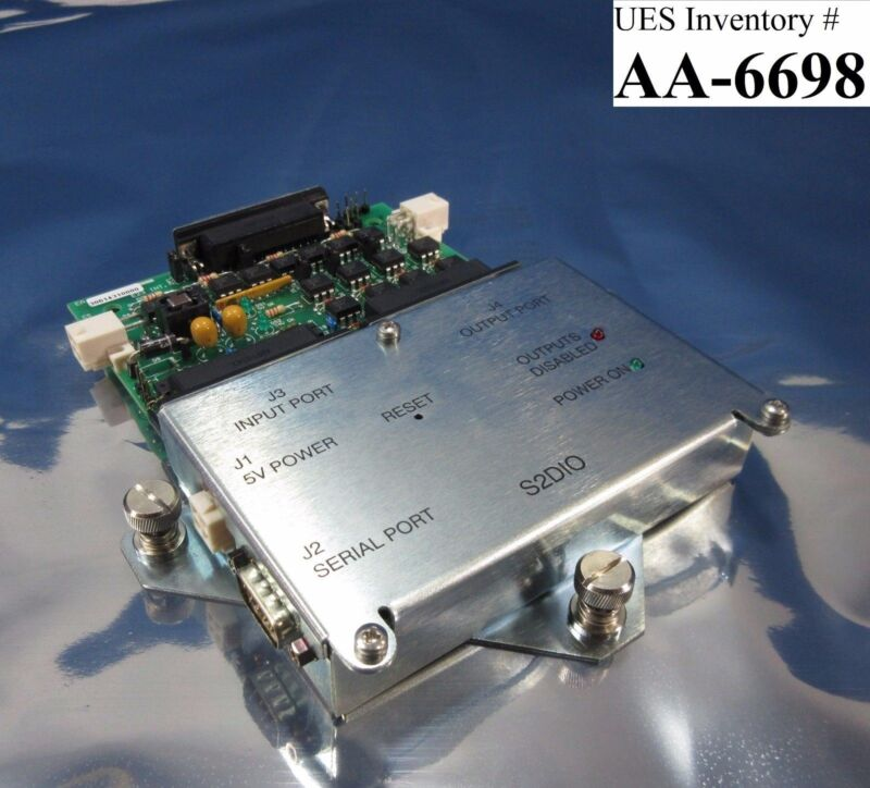 A To Z Electronics 30614200000 S2dio Module With Pcb 30614310000 Amat Used