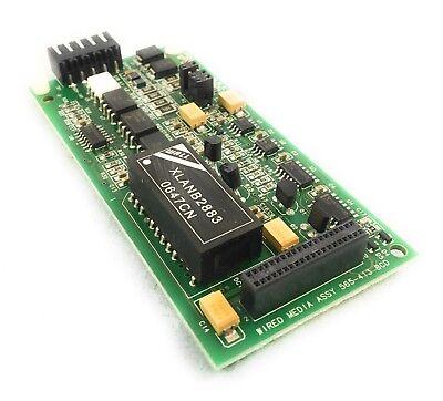 Simplex 4100 Fire Alarm 565-413 Wired Media Panel Circuit Board Module