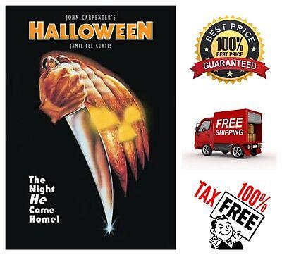 Halloween John Carpenter Horror Scary Spooky Movie Jamie Lee Curtis DVD Film (Halloween Spooky Movies)