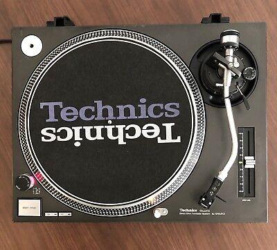 Technics SL-1210MK2 (S-1200) Turntable -Dual Voltage- Tested and Adjust-
