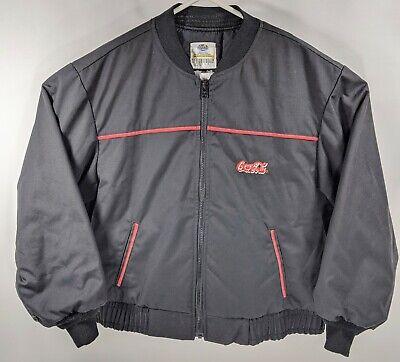 VTG Coca Cola Mens Riverside Black Jacket With Thinsulate 3M Sz XL