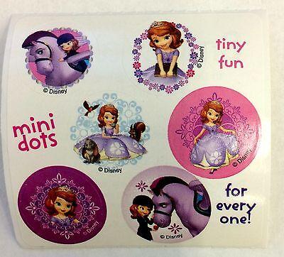 60 Disney Princess Junior Sofia the First Stickers Party Fav