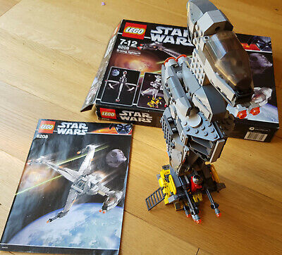 BOXED LEGO STAR WARS SET 6208  B-WING FIGHTER - COMPLETE WITH INSTRUCTIONS & BOX