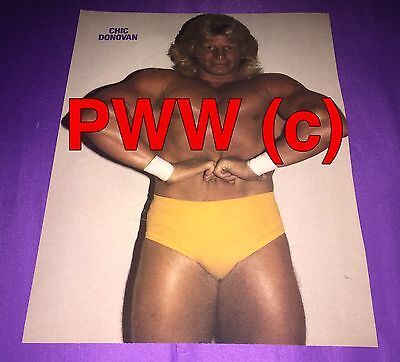 - Chick Donovan,Wrestling Pin Up,2-Sided,WWC,NWA,Caribbean,Angelo Mosca Jr,MACW