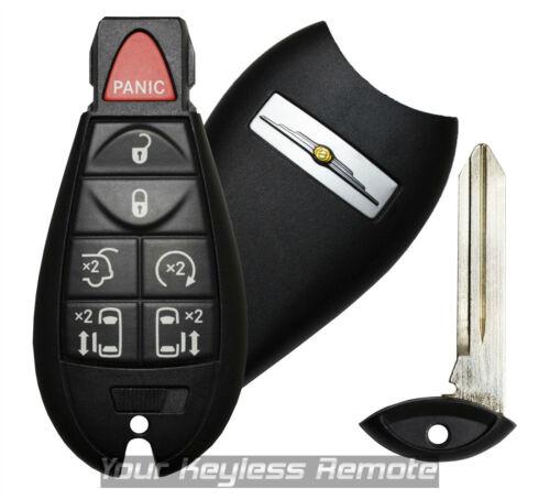 Oem Factory Chrysler Logo Town & Country Mini Van Remote Fobik Key Keyless Fob