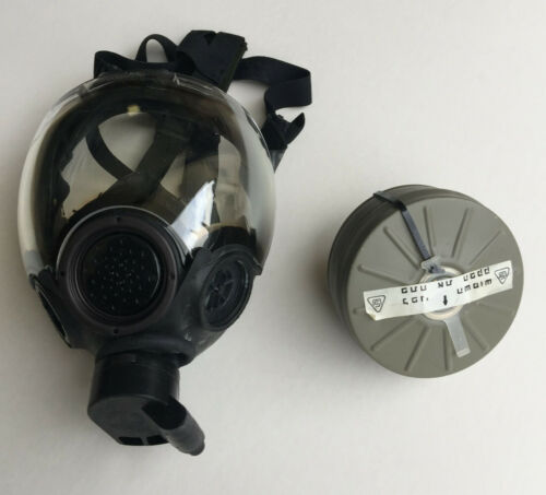 MSA Millennium CBRN Gas Mask with ISRAELI filter (Medium)