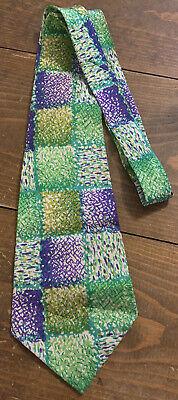 1960s – 70s Men's Ties | Skinny Ties, Slim Ties VINTAGE All Silk 1960's Men's Neck Tie Herbert Mens Shops Multi Color $19.99 AT vintagedancer.com