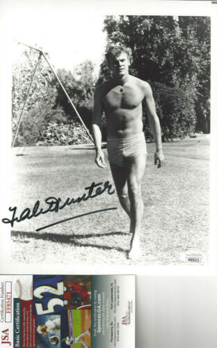 late actor Tab Hunter    autographed 8x10  photo JSA Certified