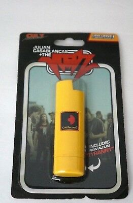 JULIAN CASABLANCAS THE VOIDZ Tyranny USB Yellow Lighter Sleeve Brand NEW Sealed