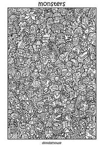 Doodle Art Ebay