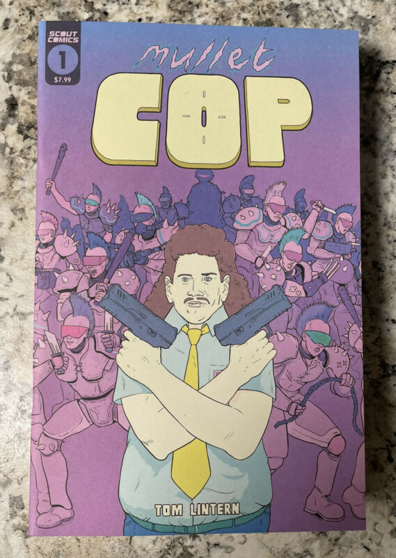 Mullet Cop #1 scout comics, key book …. READY TO SHIP NOW