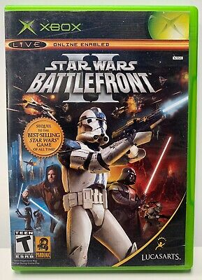 Star Wars Battlefront 2 for Xbox Original Complete CIB NTSC Version Two