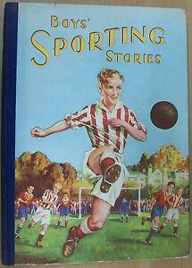 BOYS-SPORTING-STORIES-H-B-BIRN-BROTHERS-Ltd-Circa-1950