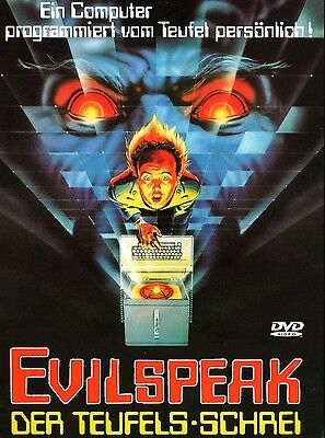 Evilspeak - Special Longversion , 100% uncut , DVD Region2 , new and sealed (Halloween 2 1981 Uncut Dvd)