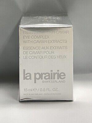 NIB La Prairie Essence of Skin Caviar Eye Complex with Caviar Extracts, 15 ml
