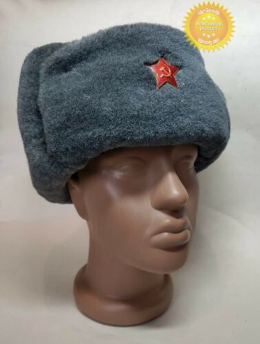 Soldier Winter Cap Ushanka Earflap USSR Soviet Army Authentic New Size 58