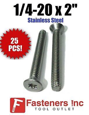 Qty 25 14-20 X 2 Stainless Steel Trailer Flooring Floorboard Screw Torx