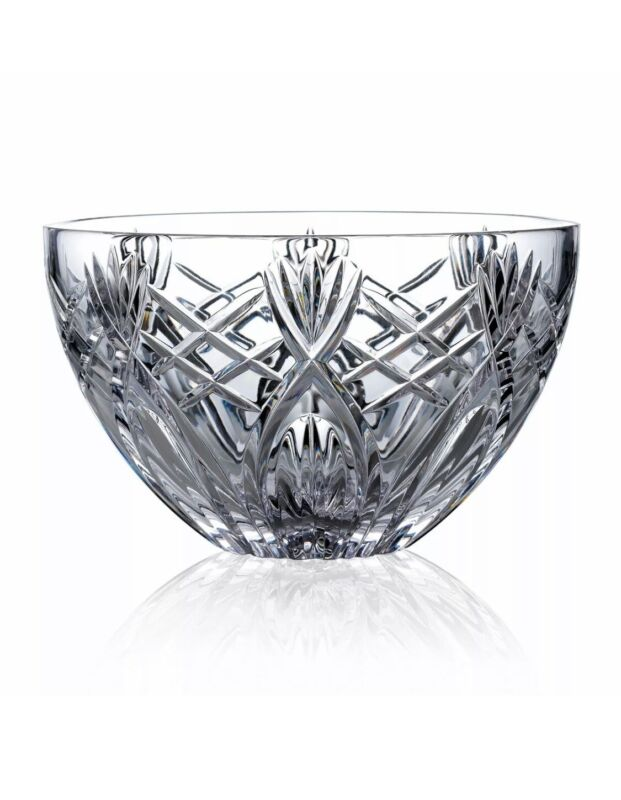 "Waterford clear Crystal ""Westbrook""  Bowl, Brand New in Box, 10"""