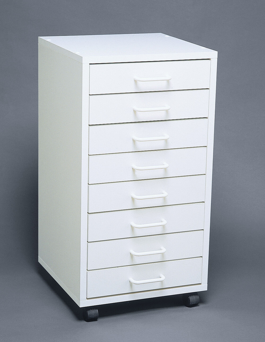DentalMedical 8 Drawer MOBILE CABINETSTORAGE CART EBay