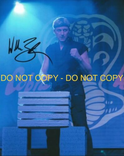 WILLIAM ZEBKA,, COBRA KAI, HAND SIGNED 8X10 PHOTO W/COA - $10.00