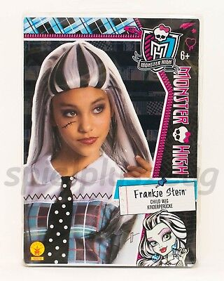Monster High Frankie Stein Kinderperücke Karneval Halloween Fasching - Frankie Stein Perücke