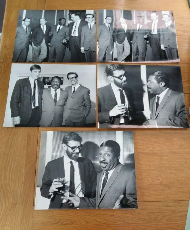 Erroll Garner 5 X Original Photographs (by Ken Palmer)