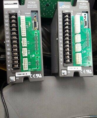 Pacific Scientific Pc800 Brushless Servo Drive Pc833-001-n Kollmorgen Save Big
