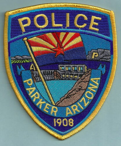 PARKER ARIZONA POLICE SHOULDER PATCH