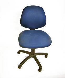 1 x Blue Office Chair. $5 cash pick up. Pick up only. Lonsdale Morphett Vale Area Preview