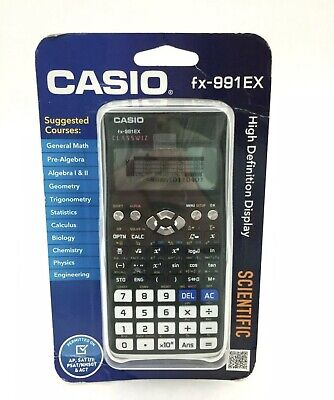 Used, CASIO FX-991EX CLASSWIZ SCIENTIFIC CALCULATOR / PROTECTIVE CASE - BRAND NEW !!!! for sale  Shipping to South Africa
