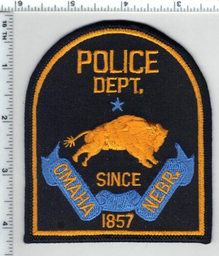 Omaha Police (Nebraska) 4th Issue Shoulder Patch