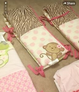 Caters baby girl bedding