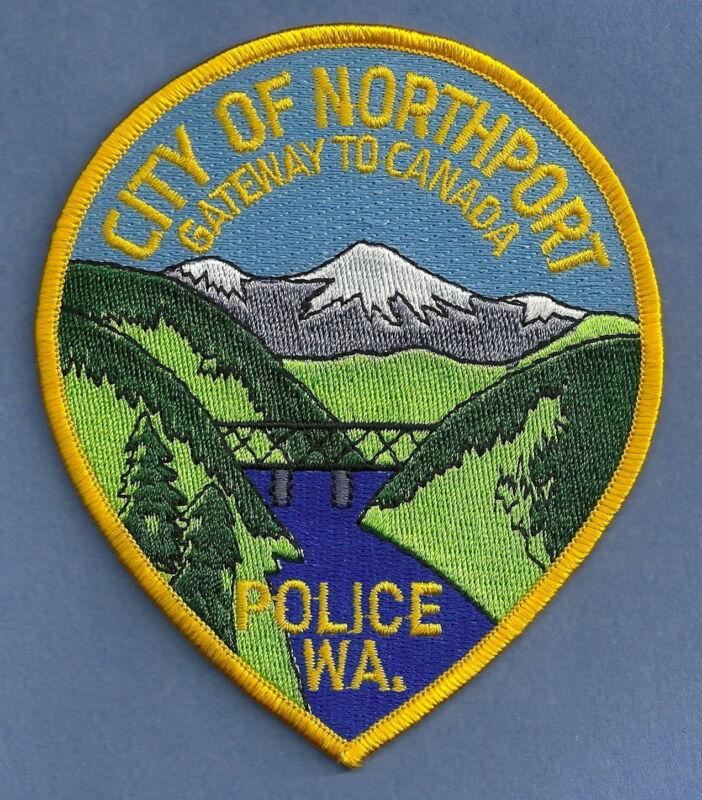 NORTHPORT WASHINGTON POLICE SHOULDER PATCH