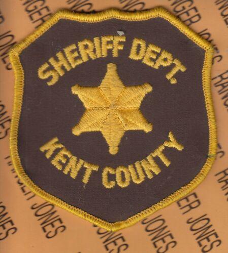 "KENT COUNTY Sheriff Department Michigan PD SO LEO 4.25"" patch m/e"