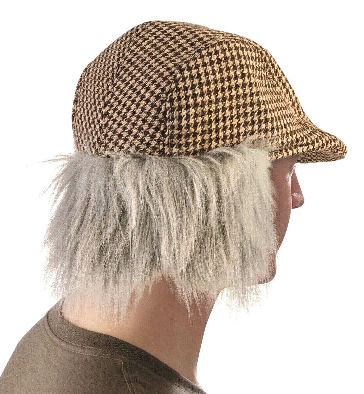 Eisbar power horn hairy hat