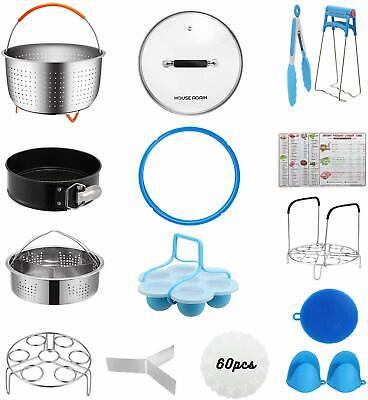 [Best Value Set] House Again Accessories for InstaPot, Universal Compatible