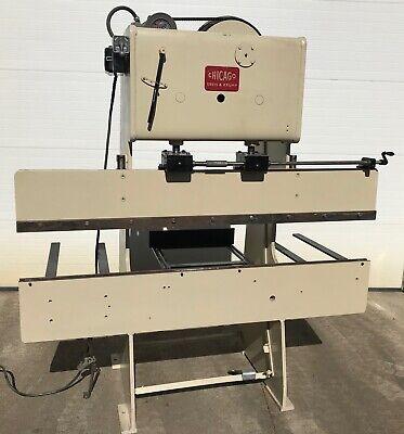 Dreis Krump Chicago Model 135 Mechanical Power Press Brake