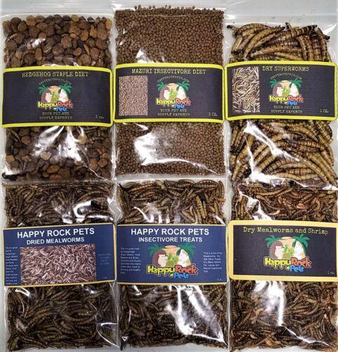 Hedgehog and Sugar Glider Insectivore Treat Sampler 6 pack #2