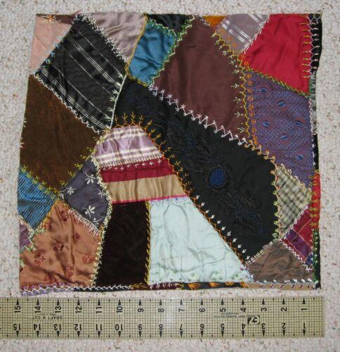 ~ Crazy Quilt Piece ~ 1880