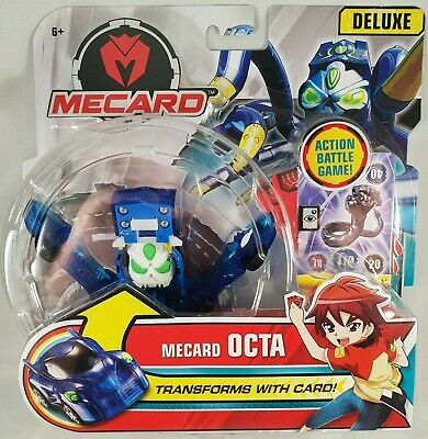 Mattel Deluxe Mecard Mecardimal Action Figure Transforms with Card (Deluxe Action Figure Assortment)