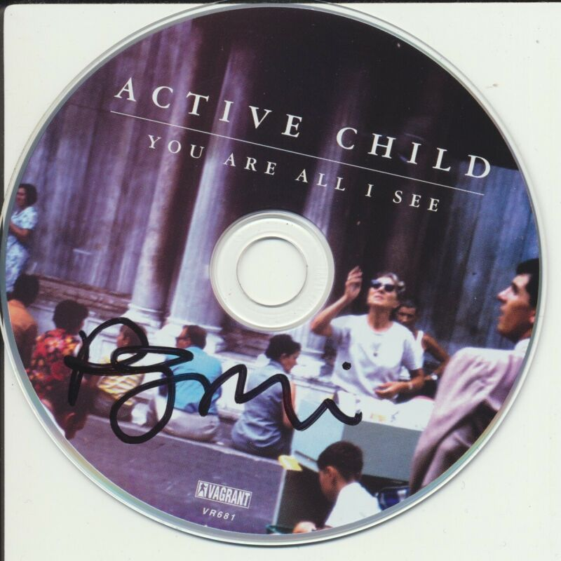 PAT GROSSI SIGNED ACTIVE CHILD YOU ARE ALL I SEE CD DISK