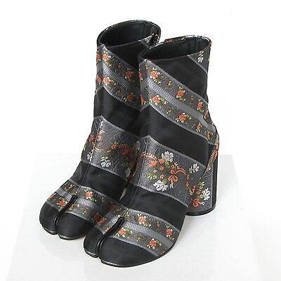 MAISON MARTIN MARGIELA split toe floral brocade jacquard tabi boots 38 / 8 NEW for sale  Philadelphia