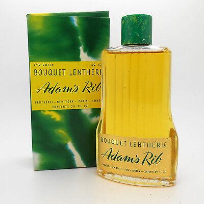 VINTAGE Bouquet Lentheric Adams Rib 3.5 oz eau de toilette