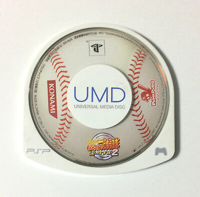 USED PSP Disc Only Jikkyo Powerful Pro Baseball Portable 2 JAPAN Pawapuro import