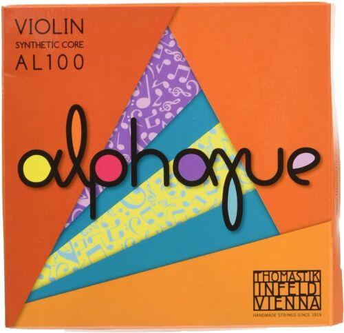 Full Set Thomastik Alphayue AL100 Medium Violin Strings Size 4/4 Set
