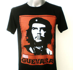 CHE GUEVARA  T-Shirt  Black Size Medium
