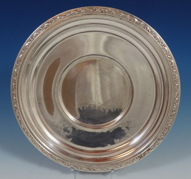 Tara by Reed and Barton Sterling Silver Charger Plate #X834 (#0882)