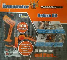 AS SEEN ON TV - RENOVATOR TWIST A SAW - DELUXE KIT Blacktown Blacktown Area Preview