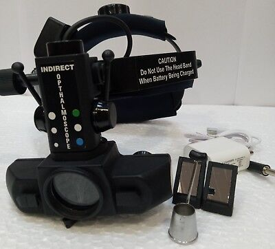 Indirect Ophthalmoscope Led With Rechargeable Battery Pack Mg-78